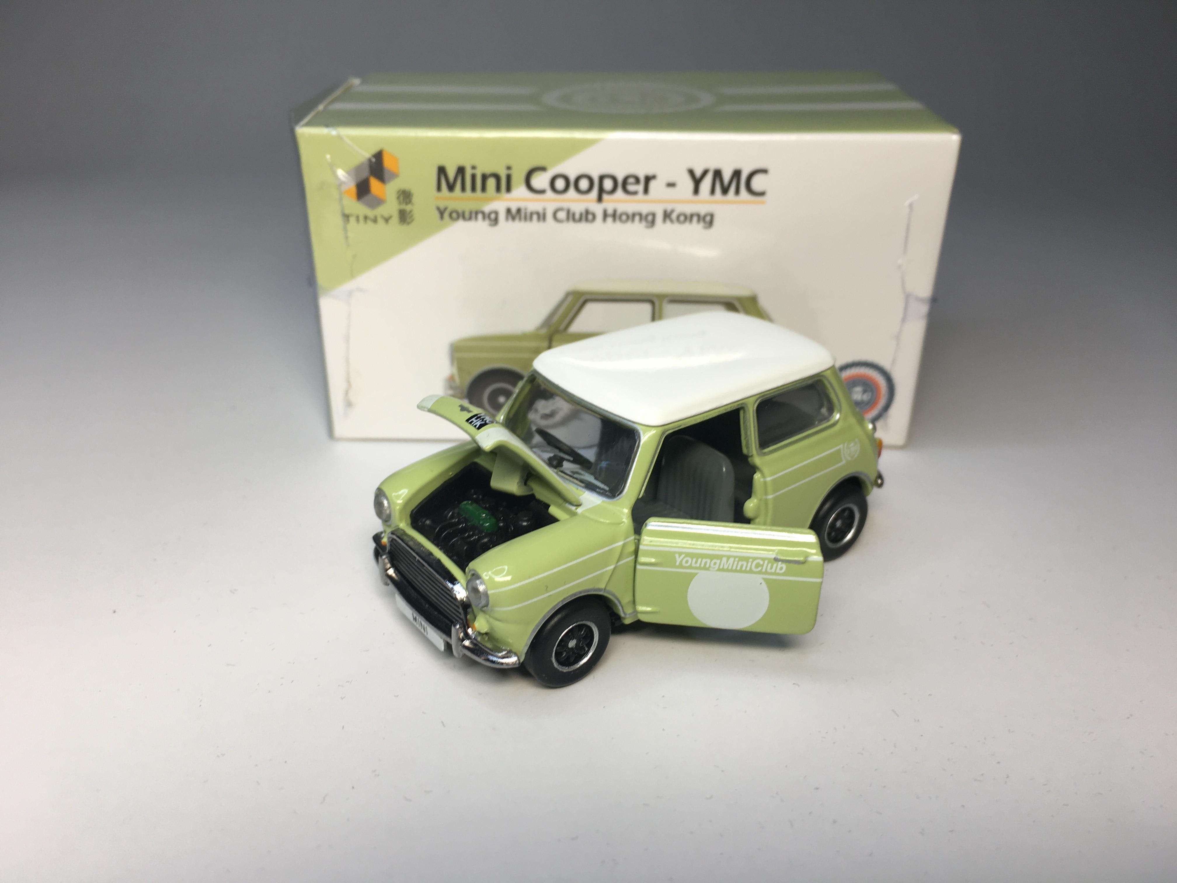 Miniature auto 12 in clock austin mini cooper