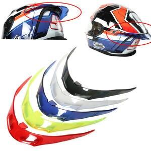 Motorcycle Refit Rear helmet spoiler Helmet tail decoration Accessories