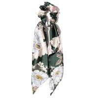 Green Flower Silk