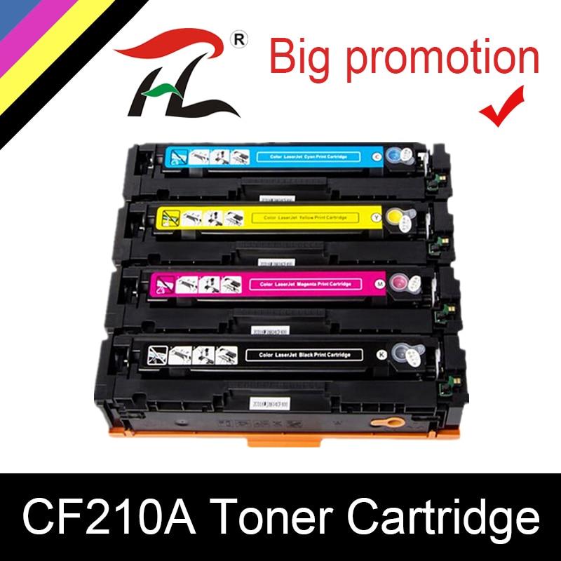 YLC Compatible 131A Toner Cartridge CF210A 210A CF211A CF212A CF213A For HP LJ PRO 200 M251n/M251nw;200 MFP M276n/M276nw