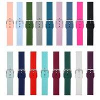 Per Amazfit Bip cinturino cinturino in Silicone per Xiaomi Amazfit GTS 2 Mini / Bip S U bracciale per hay485 LS02 20mm cinturino da polso sportivo