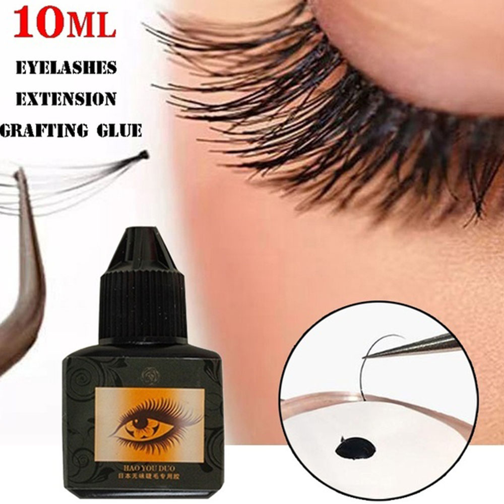 10ML Individual Eyelashes Extension Grafting Glue Long-lasting Nature Fast Drying Glue Adhesive False Eye Lashes Makeup Tool