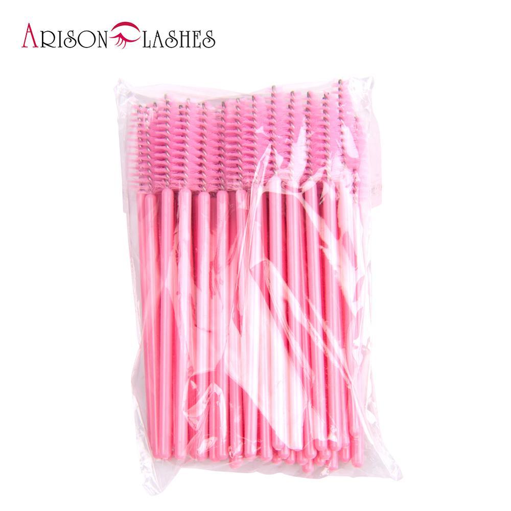 50Pcs/Set Disposable Eyelash Mini Brush Mascara Wands Applicator Makeup NEW Makeup Tools Cosmetic Brushes