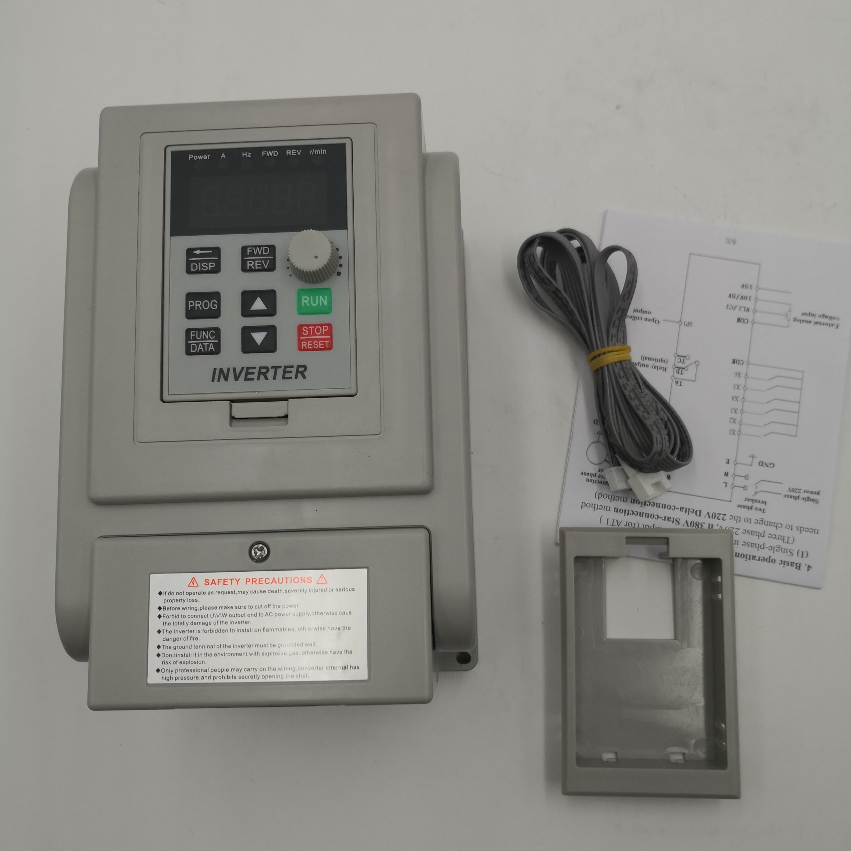 VFD 220V 1P-220v 3P Frequency Converter Combo for 17 USD mxgfk