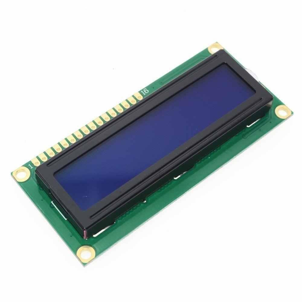 Iic/i2c 1602 serie 5v luz de fondo azul pantalla Lcd para Arduino 2560 Uno Avr