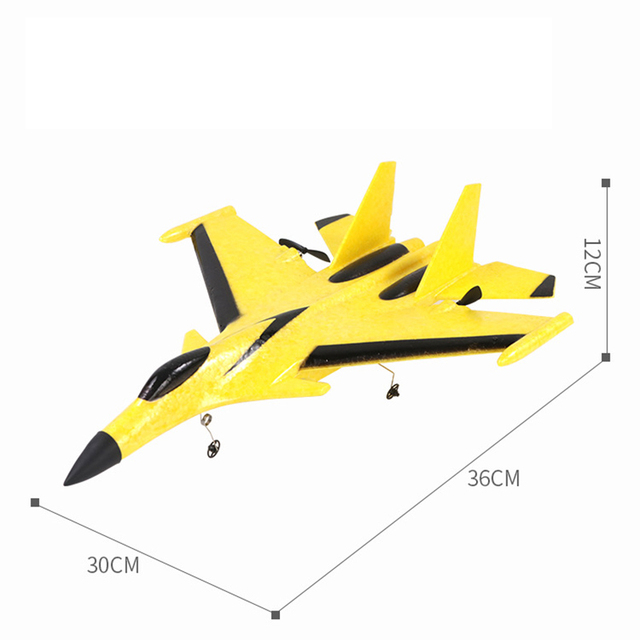 HGRC RC Plane Glider Dron foam Hand Throwing Airplane Model Electric Remote Control Fixed Wing Outdoor Drone Gifts Toys for boys 6
