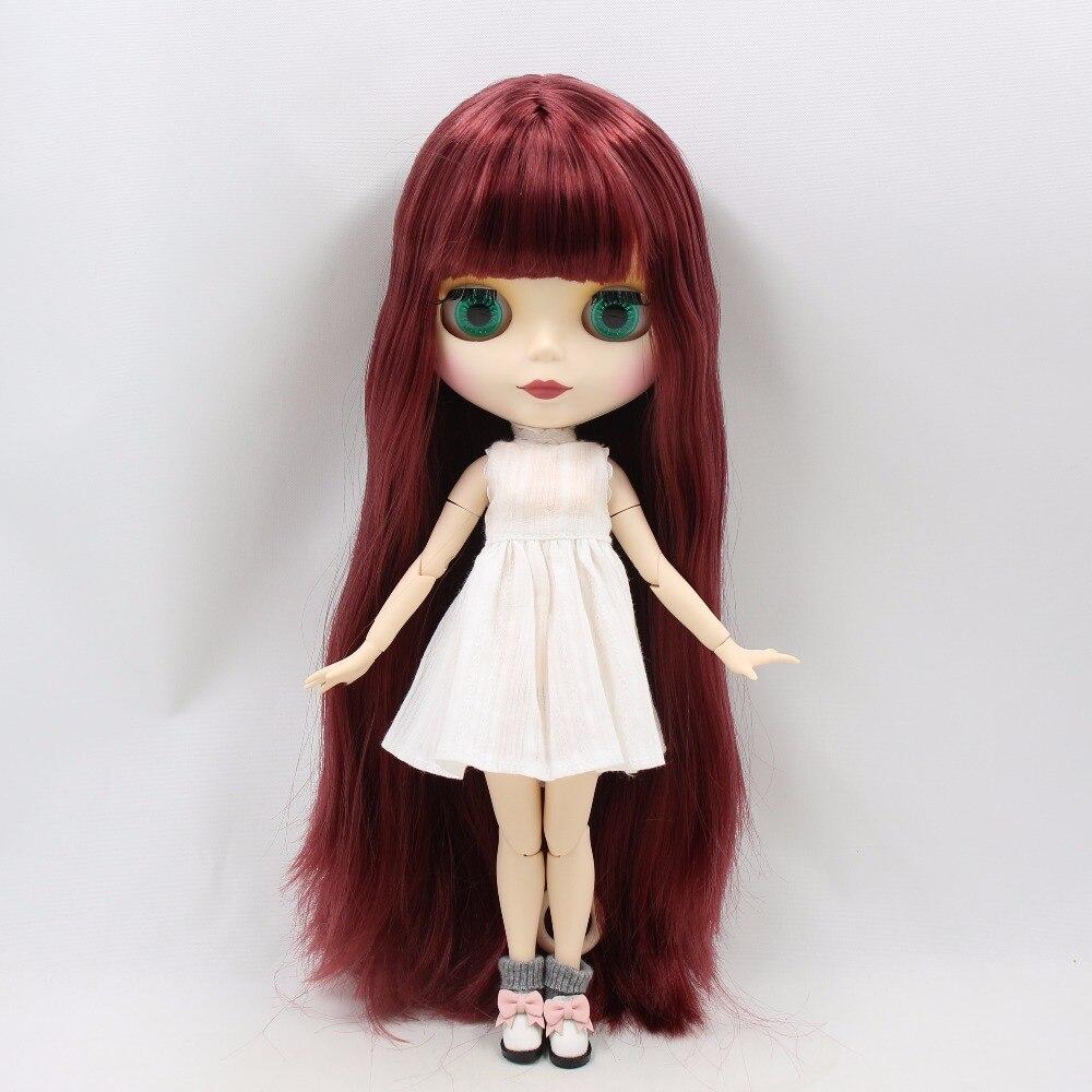 Emma – Premium Custom Blythe Doll with Cute Face 1