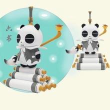 Blind Box Genuine Opande Guochao Liuyi Opandee Panda Series Panda Doll Tide Play Decoration Toy