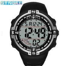 SYNOKE Led Uhren Digitale Uhr Männer Big Screen Elektronische Sport Uhr Herren Wasserdichte Armbanduhr Männlich relogio masculino