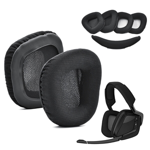 Image 1 - بطانة للأذن وسائد الأذن سماعة استبدال ل Corsair VOID برو سماعات للعب دروبشيب
