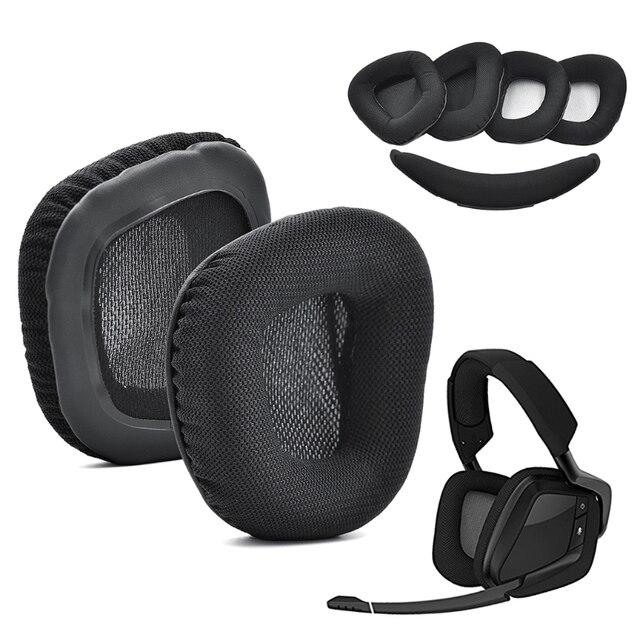 بطانة للأذن وسائد الأذن سماعة استبدال ل Corsair VOID برو سماعات للعب دروبشيب