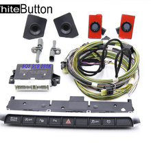 5QA 919 298D PLA 3.0 8K TO 12 K AUTO Parking KIT PDC OPS For AUDI A3 8V White Button