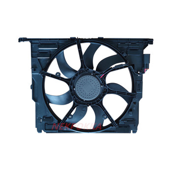 Cooling fan for BMW F18 5 Series,Condenser electronic fan,water tank fan for BMW F18 17428509741 image