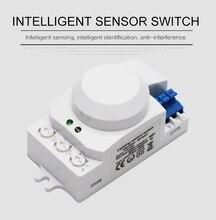 Mikrowelle Sensor Schalter 5,8 GHz Radar Sensor Schalter 360 Grad Radar motion Sensor Licht Schalter Körper Motion Detektor