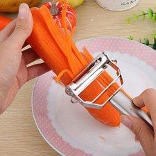 Овощечистка из нержавеющей стали терка для овощей огурцов моркови