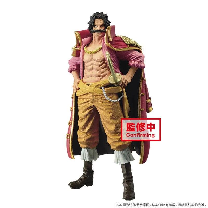 Pre Verkauf Goldroger Anime Figur Modelle Einteilige Figural Figurine Puppen Peripherie Sammlung Pvc Spielzeug 23Cm Goldroger Figurine