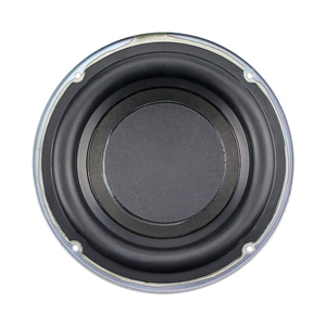 Image 5 - Ghxamp 6,5 zoll Subwoofer Lautsprecher 4ohm 100W Woofer Lautsprecher Tiefe Bass 30 Core Lange Hub Gummi Rand 1PC