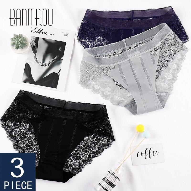 BANNIROU Женственная Дамская обувь; Кружевное нижнее белье для женщин, высокое качество, мягкий, горящая распродажа, хит продаж, стильные женски...