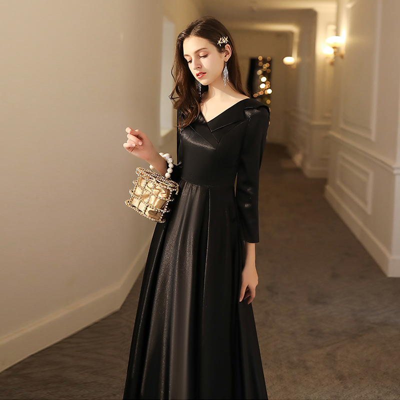 Half Sleeve Elegant Vestidos Women Dresses