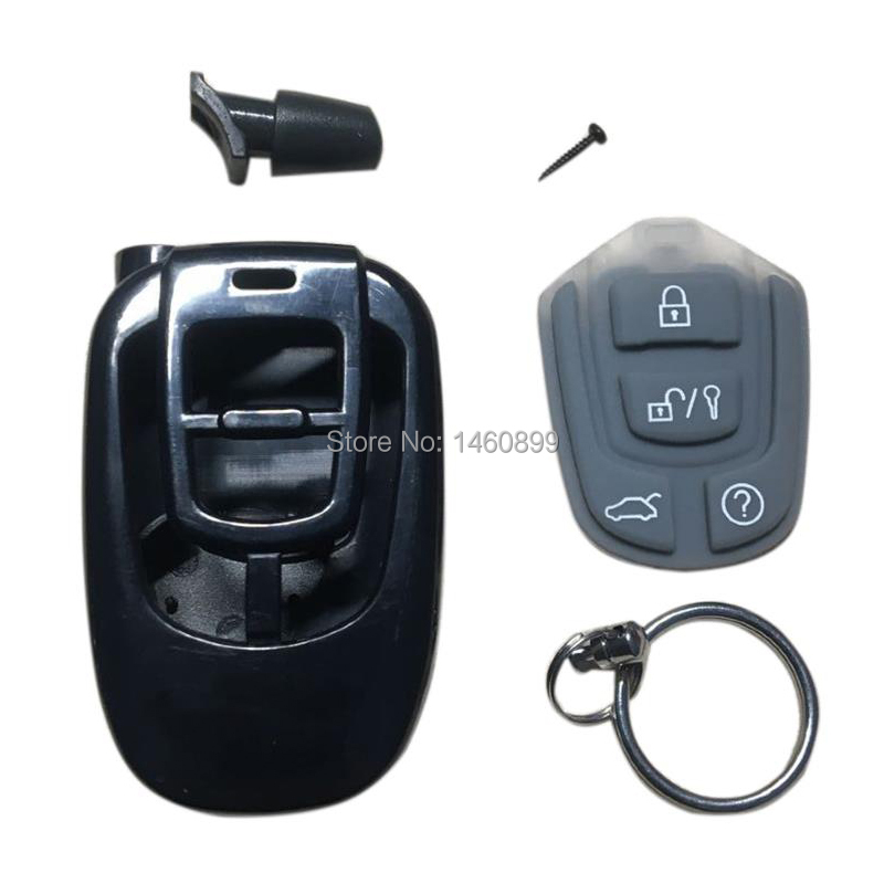 Keychain Plastic Body Case Trinket For Russian 2 Way Car Alarm One Way Remote Control Scher-khan Magicar 5 Scher Khan