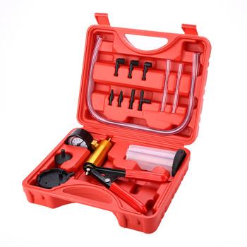 Narzędzie do odpowietrzania hamulców narzędzie do odpowietrzania hamulców próżniowych Tester próżniowy narzędzia do odpowietrzania hamulców do motocykli samochodowych tanie i dobre opinie GISAEV 1455413 none shown as picture copper alloy + iron + rubber Ciśnienie i próżni testerów as show 950g