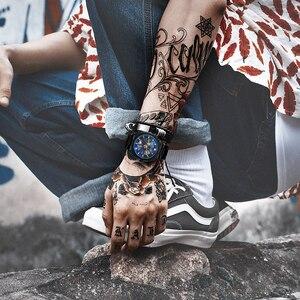 Image 5 - Vencedor oficial do vintage relógio automático men esqueleto mecânico dos homens relógios de luxo da marca superior clássico vestido reloj hombre