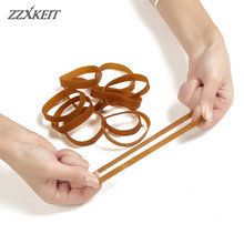 Loop Rubber-Bands Supplies Packaging-Band Office-Stationery-Holder Elastic School 50--10mm
