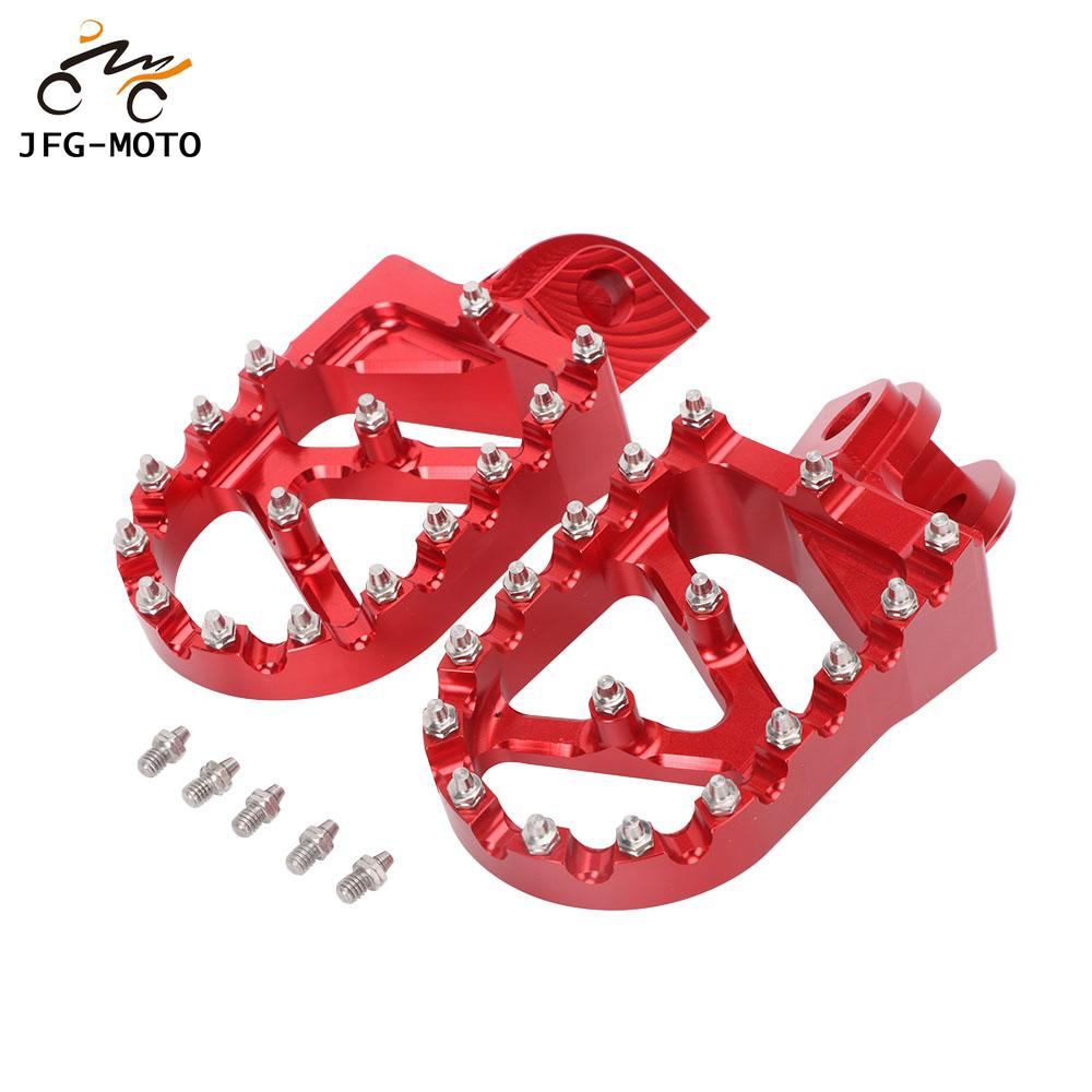 Motorcycle CNC 2T 4T Footrest Footpeg Foot Pegs Pedals Rests For <font><b>Beta</b></font> 200RR <font><b>300RR</b></font> 350RR 390RR 400RR 430RR 450RR 480RR 498RR image