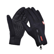 Fishing Gloves Full Finger Neoprene PU Breathable Leather Warm Fitness Carp Accessories Winter