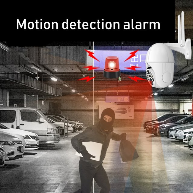 2020 New 1080P Outdoor PTZ IP Camera Two Way Audio Night Vision 360 degree Full views WiFi Wireless Camera Safety Monitor