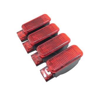 Image 2 - Kırmızı/beyaz kapı paneli uyarı işığı lambası 8KD947411 6Y0947411 Audi A3 A4 B8 A5 A6 A7 A8 Q3 q5 TT RS 8KD 947 415 8KD947415C