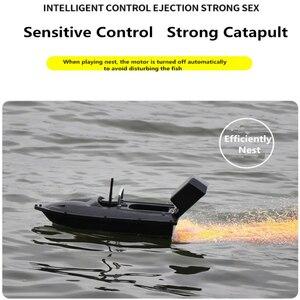 Image 3 - 新機能固定速度クルーズリモートコントロール釣りファインダーボート 1.5 キロ 500 メートルデュアル夜の光ルアー釣りスマートrc餌ボート