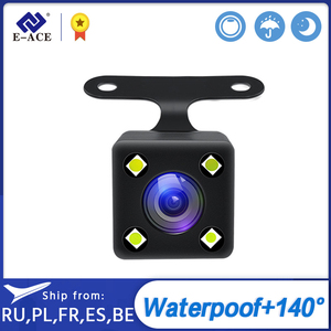 E-ACE Car Rear View Camera Backup Auto Reversing Parking Camera 4 LED Night Vision Waterproof Rear Camera For E-ACE Dvr