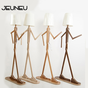 Nordic Modern Minimalist Floor Light E27 220V LED Creative Humanoid Personality Floor Lamp for Bedroom Parlor Hotel Office Study(China)