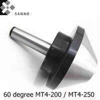 MT4-200/MT4-250 centro vivo do guarda-chuva do cnc da elevada precisão 60 graus  parte superior da rotação do touro/cantores giratórios para a máquina do torno
