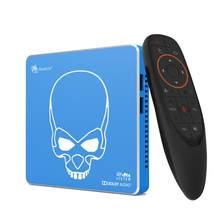 ТВ-приставка Beelink GT King Pro, Android 9,0, 4 + 64 ГБ, звук Dolby, звук DTS, Звук Hi-Fi, 5,8G, Wi-Fi, 4K, 75 Гц