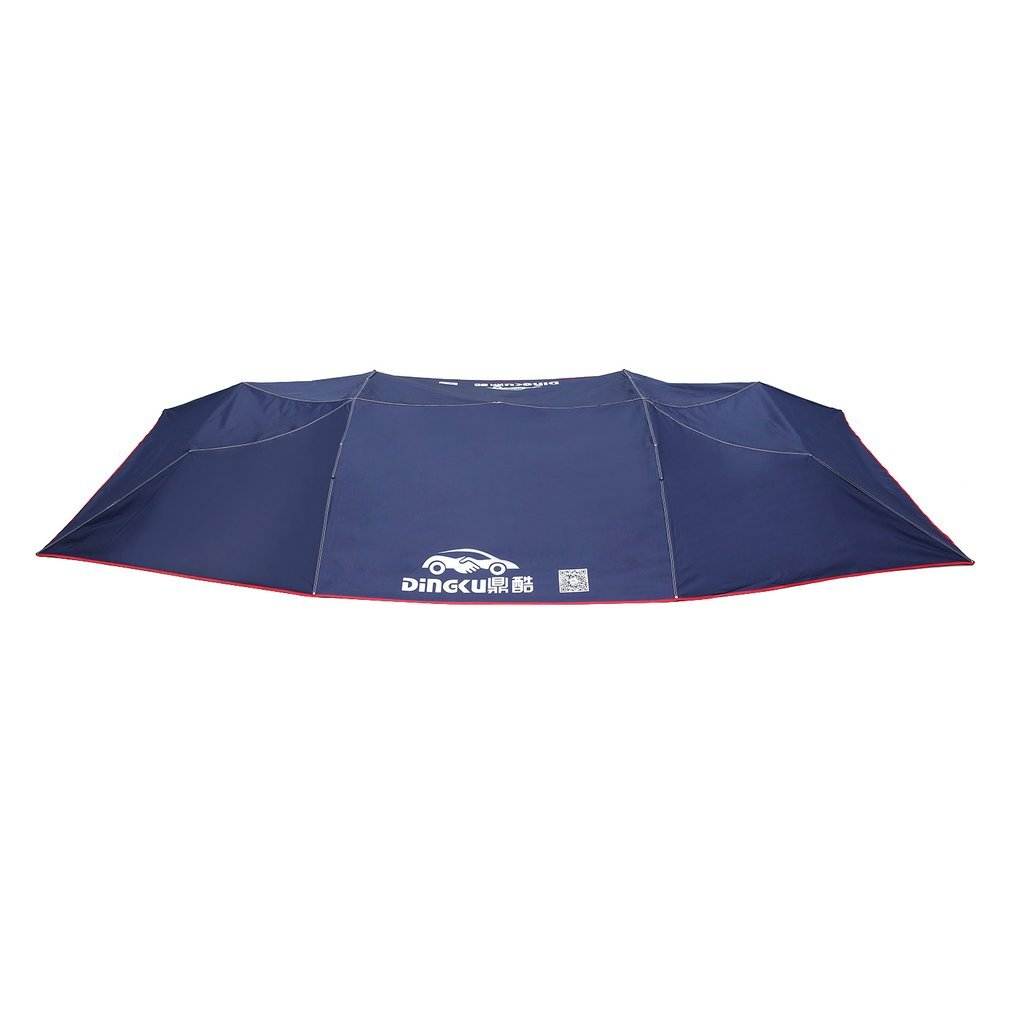 Remote Control Automatic Awning Tent Car Cover Outdoor Waterproof Folded Portable Car Canopy Cover Anti-UV Sun Shelter Car Roof