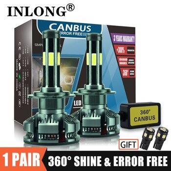INLONG H7 H4 LED Bulbs Canbus lampada H11 Led Headlight H8 9005 hb4 9006 hb3 Led Lamp 16000LM Auto Car Accessories Fog Light 12v