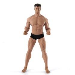 Mężczyzna figurka ciała tblegue TM02A 1/12 skala muskularne męskie ciało i głowa Model elastyczne Phicen figurka lalka zabawki modele