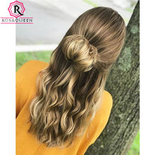 Blonde Hair Rosa Queen Jewish Wig Kosher Wig Silk Base Top Double Drawn European Virgin Hair Unprocessed High Quality(China)