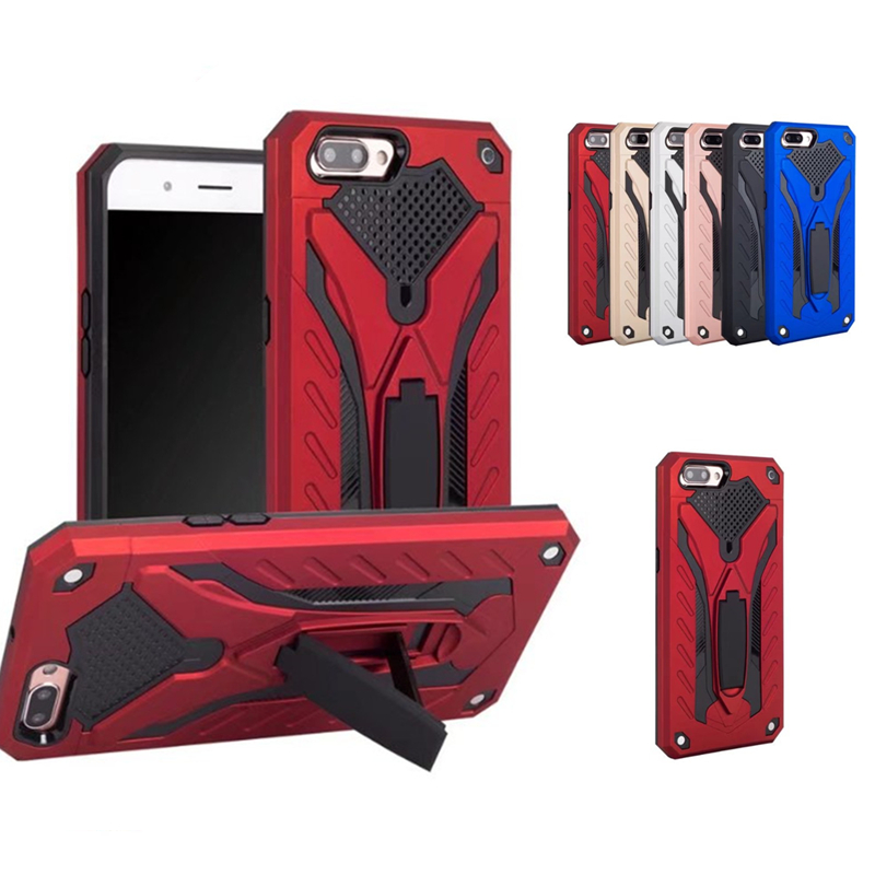 For <font><b>OPPO</b></font> A3S A5 F7 F9 F5 <font><b>A33</b></font> A73 A83 F3 A75 A37 A59 A57 A59 A71 Shockproof Hybrid Armor Silicon PC Stand <font><b>Case</b></font> R11 R9S R11S Plus image