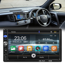 """2 DIN 7"""" Car Multimedia Mp5 Player Autoradio Car Stereo Touch Screen Bluetooth  Player Hands-Free Calling FM Radio AUX Input"""