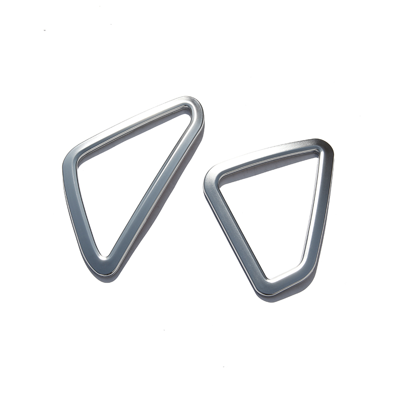 Chrome Dashboard Air Vent Outlet Cover Trim Frame Sticker For BMW X5 F15 2014 2015 2016 Accessories Car Styling Fit For LHD