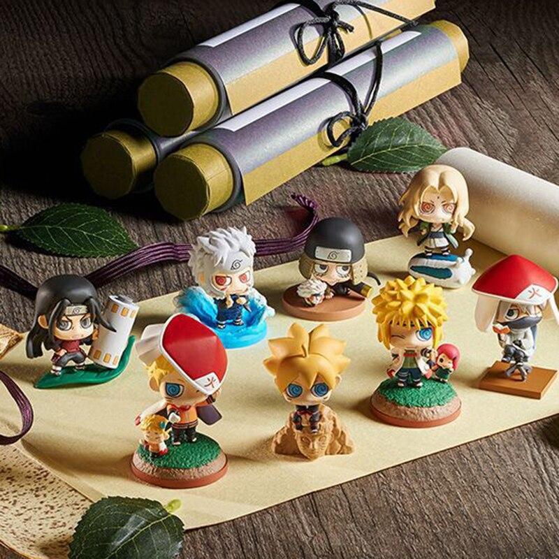 ELBCOS Naruto Shodai Hokage Senju Hashirama Hiruzen Tobirama voyage à l'ouest Akatsuki Bijuu modèle jouets figurine