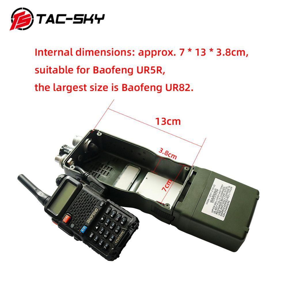 Купить с кэшбэком TAC-SKY AN / PRC 152 152A military radio walkie-talkie model virtual broadcast box, Harris military virtual chassis PRC 152 152a