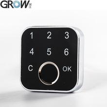 Lock-Keypad Electric-Cabinet Fingerprint Two-Installation Drawer Home-Bank GROW