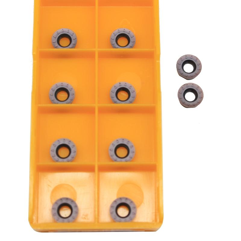 10PCS RPMT08T2 MOE JS VP15TF Discount Milling Tool CNC Lathe Tungsten Carbide Tools