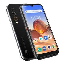 Blackview BV9900E Helio P90 wytrzymały smartfon 6GB + 128GB IP68 wodoodporny 4380mAh 48MP aparat NFC Android 10 telefon komórkowy tanie tanio Nie odpinany CN (pochodzenie) Rozpoznawania linii papilarnych Rozpoznawania twarzy 2020 4300 Adaptacyjne szybkie ładowanie