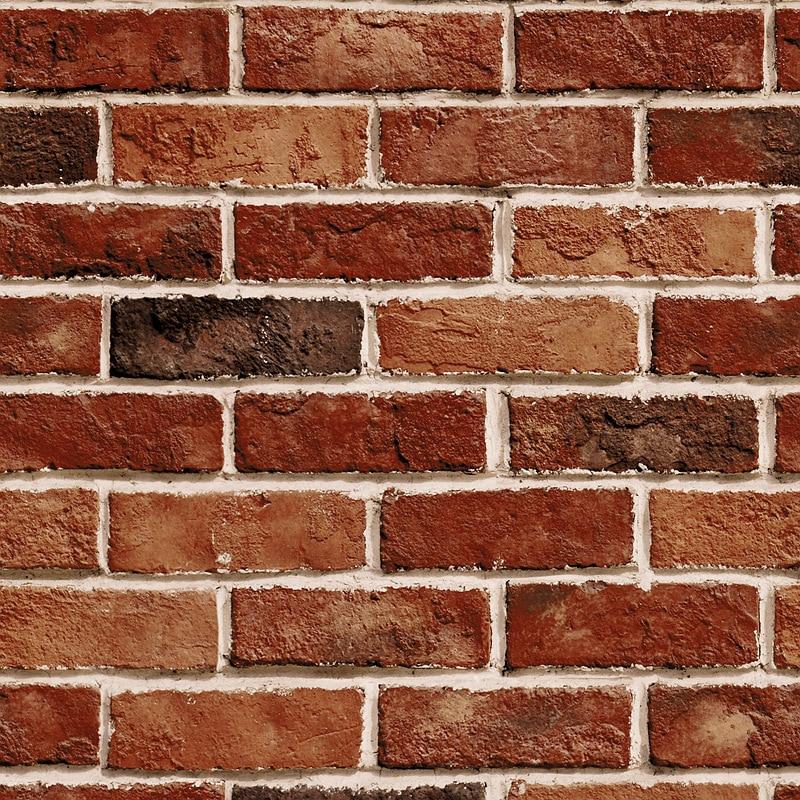 3D Retro Nostalgic Brick Pattern Red Brick Wallpaper Chinese Style Restaurant Clothing Store Wall Bricks Brick Wallpaper