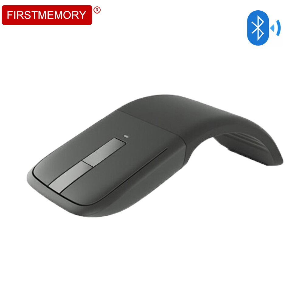 Bluetooth Wireless Mouse Gaming ARC Touch Foldable Mause 1200 DPI Computer Ergonomic Optical Mice Gamer For Microsoft PC Laptop